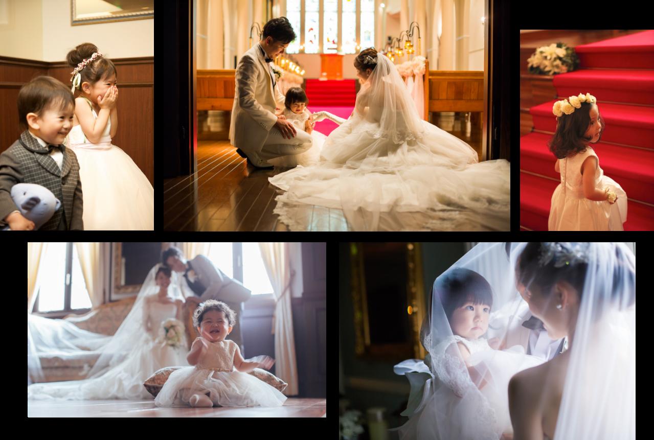 子どもが生まれたら、家族みんなで結婚式♪